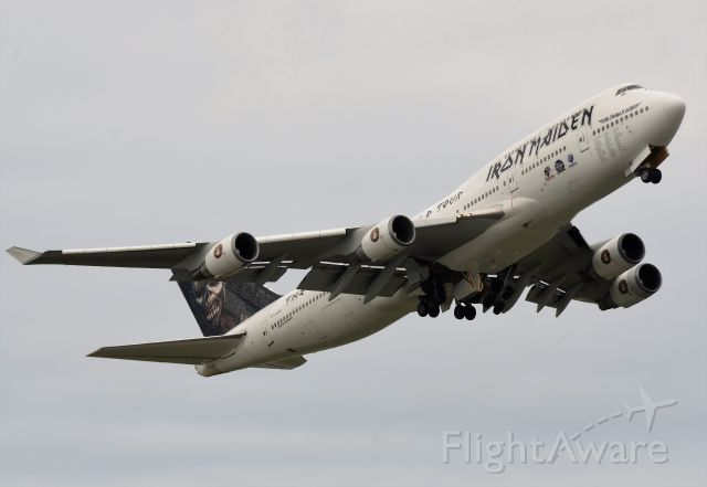 Boeing 747-400 (TF-AAK) - Departure for Seattle -Tacoma.