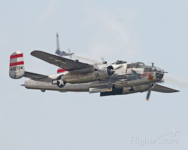 North American TB-25 Mitchell — - B-25 Panchito
