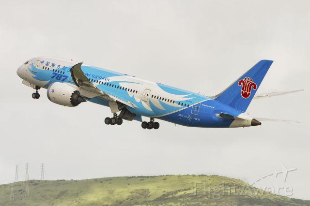 Boeing 787-8 (B-2733) - 6th March, 2016