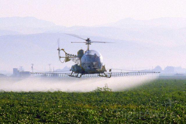 Bell UH-13H (N6288N) - Bell 47G-5 in October 1991 in California