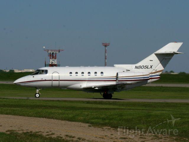Raytheon Hawker 800 (N805LX)
