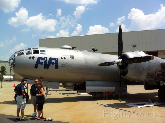 Boeing B-29 Superfortress (N529B) - More of the lovely FiFi At The Carolinas Aviation Museum at Charlotte/Douglas International Airport.