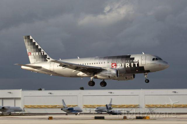 Airbus A319 (N524NK)