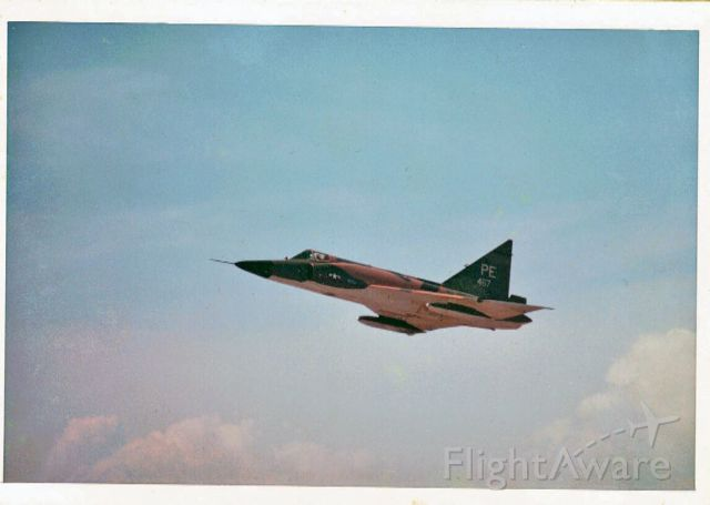 — — - F-102 Taking off from DaNang Air Base 1968