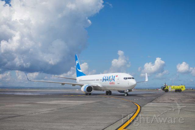 Boeing 737-800 (I-NEOS) - Auckland International Airport