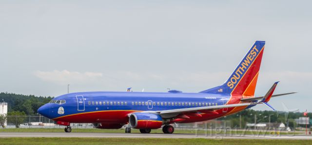 Boeing 737-700 (N906WN) - Shot with a Nikon D3200 w/ Nikkor 70-300mm<br />Best viewed in Full Size