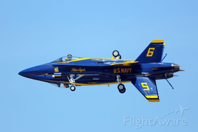 McDonnell Douglas FA-18 Hornet (16-3093) - 2012 DoD Joint Base Open House in the Andrews Air Force Base<br />U.S. Navy Blue Angels