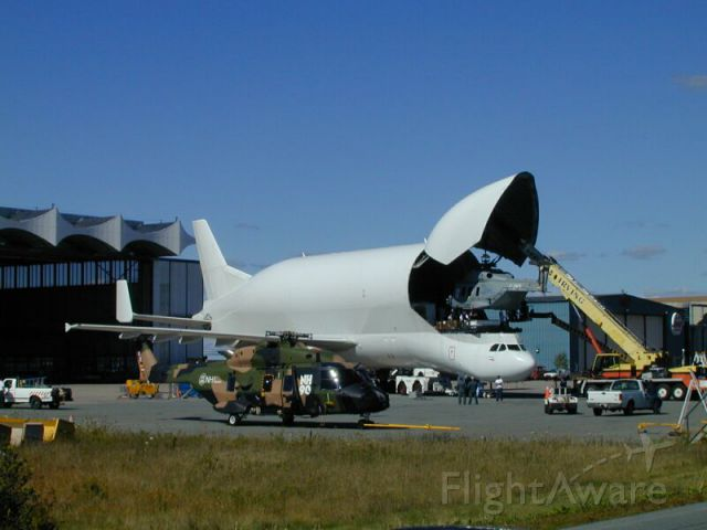 Airbus A300F4-600 — - A little to the left.....easy!