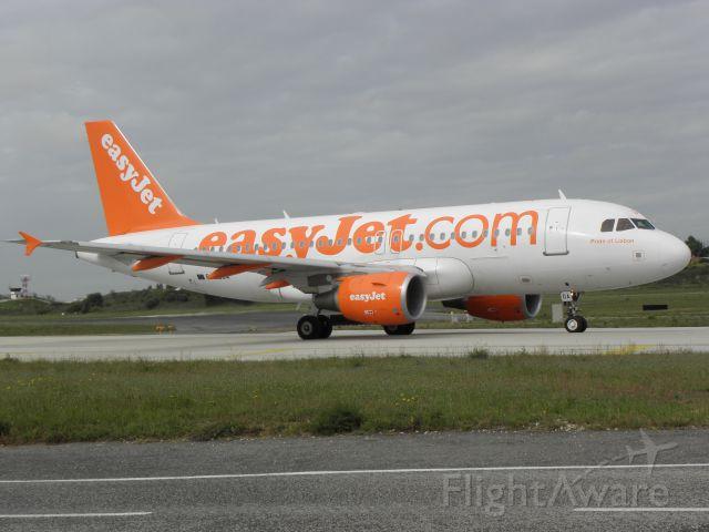 Airbus A319 (G-EZGA) - Pedro Bronze<br />(Pride of Lisbon)