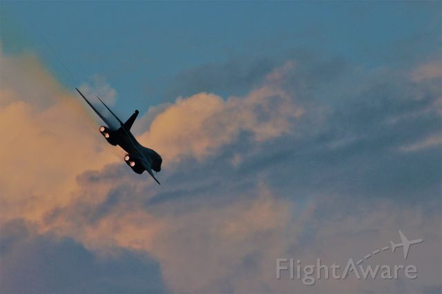 Rockwell Lancer — - The Second Twilight Fly-By of Dyess AFB B-1B