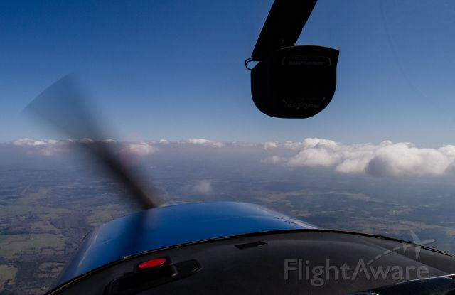 Cessna 152 (N25497) - South of town having some fun.