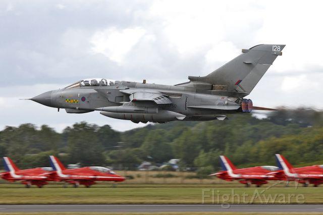 ZG750 — - RAF Panavia Tornado GR4 ZG750/128 [cn.862/BT051/3420]. Low and fast at RAF Fairford EGVA England.