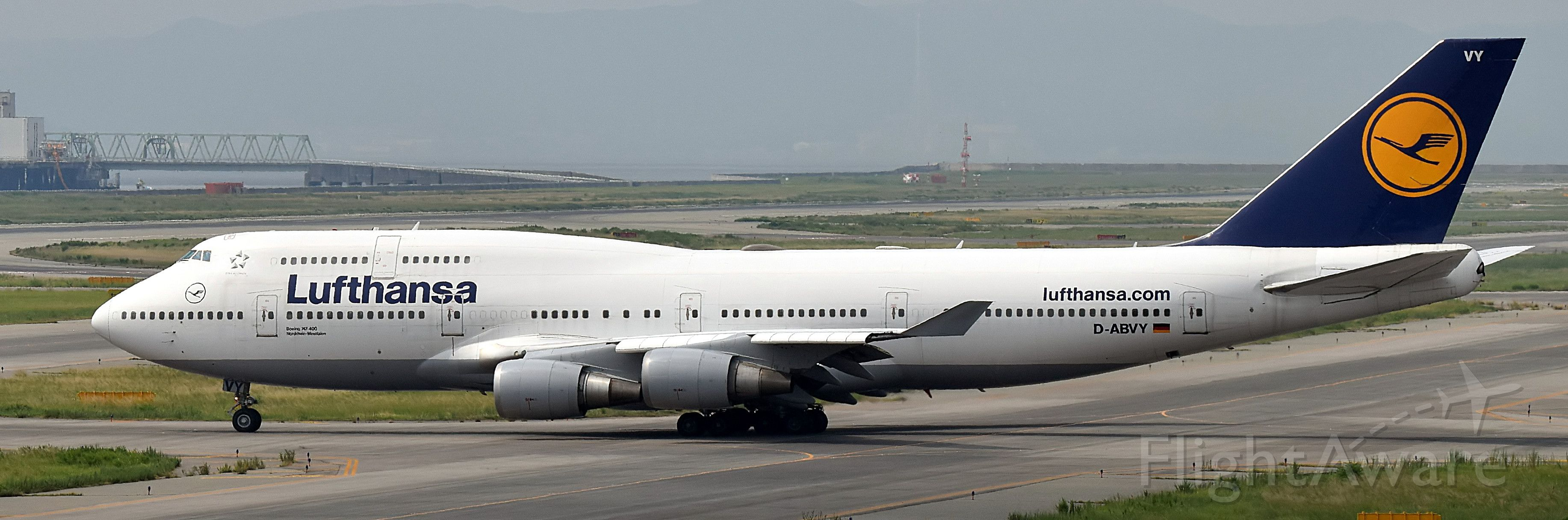 Boeing 747-400 (D-ABVY)