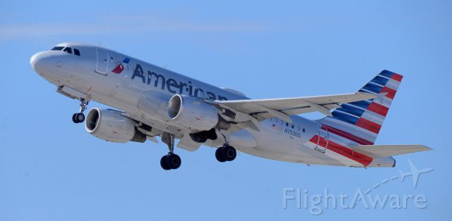 Airbus A319 (N753US) - phoenix sky harbor international airport 07MAR20