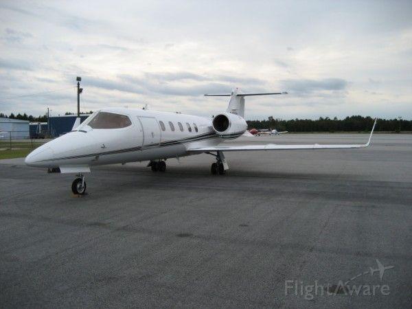 Learjet 31 (N36BL) - N36BL PARKED AT SUMTER, SC 10-16-2006