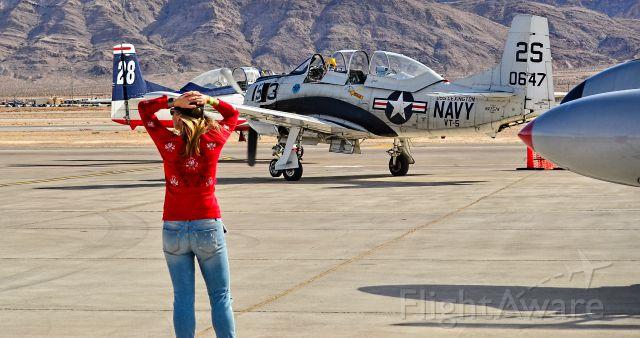 North American Trojan (N757K) - N757K 1954 North American T-28C C/N 140647 Trojan - Las Vegas - Nellis AFB (LSV / KLSV)br /Aviation Nation 2016 Air Showbr /USA - Nevada, November 12, 2016br /Photo: TDelCoro