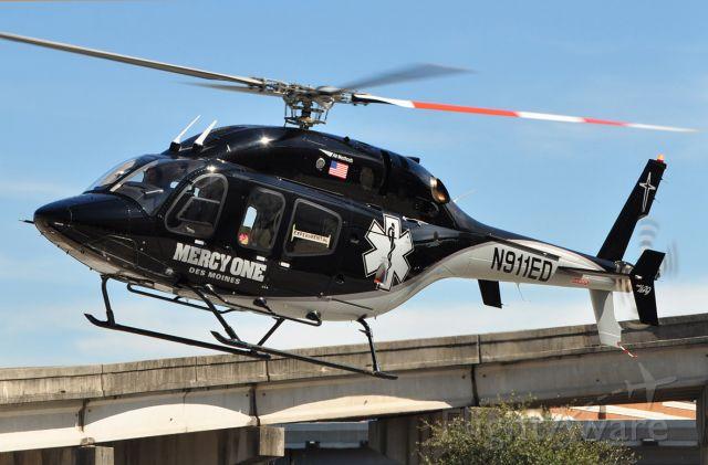 Bell 429 GlobalRanger (N911ED) - Inbound for HAI Heli Expo 2010 in Houston, TX.