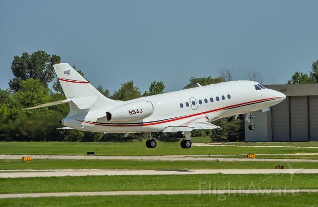 Dassault Falcon 2000 (N54J) - Rwy 5 departure @KUGN.