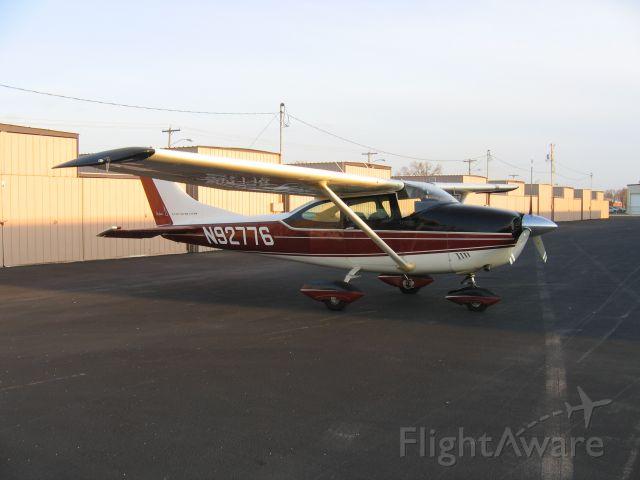 Cessna Skylane (N92776) - Outside of hangar