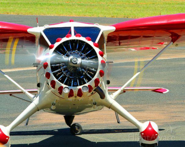 STINSON V-77 Reliant (VH-UXL) - Temora air show 2015 Australia.Stinton Reliant SR-8, I got the information from the air show mag.