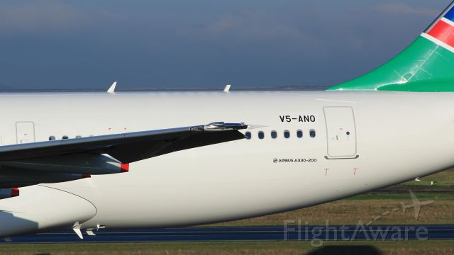 Airbus A330-200 (V5-ANO) - LOST WINGLET!