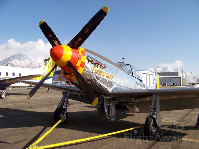 North American P-51 Mustang (N8677E)