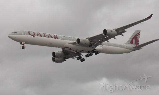 Airbus A340-600 (A7-AGD)