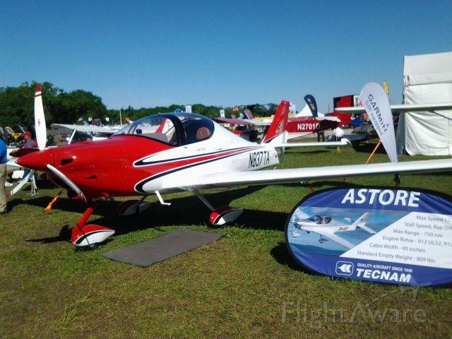 Experimental 100kts-200kts (N837TA) - Tecnam introduces the Astore to the US market, Sun-N-Fun 2014