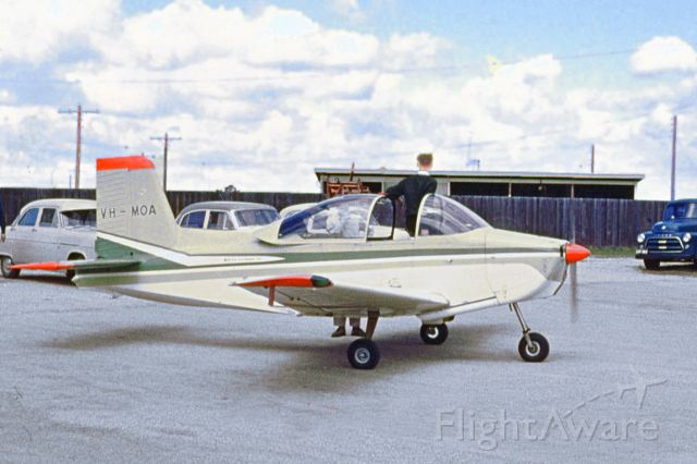 VICTA Airtourer (VH-MOA) - Victa Airtourer VH-MOA West Sale mid to late 1962.