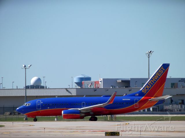 Boeing 737-700 (N499WN) - Guess where Southwest have landed?