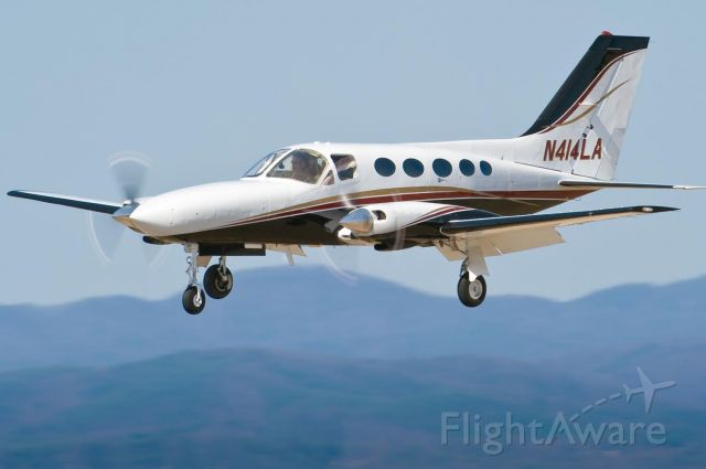 Cessna Chancellor (N414LA) - 19.Mar.10