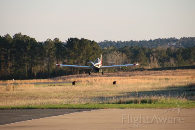 AIR TRACTOR Fire Boss (N91398) - Landing on Runway 36
