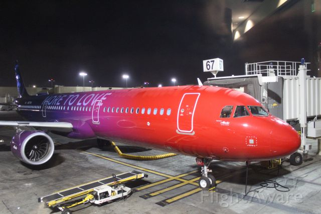 Airbus A320 (N927VA)