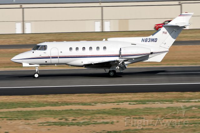 Raytheon Hawker 800 (N83MD) - British Aerospace HS 125-700A C/N NA0286 N83MD @ Paine Field Airport on September 2, 2012