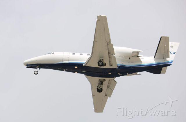 Cessna Citation V (N475CW) - landing on 19L  17May19