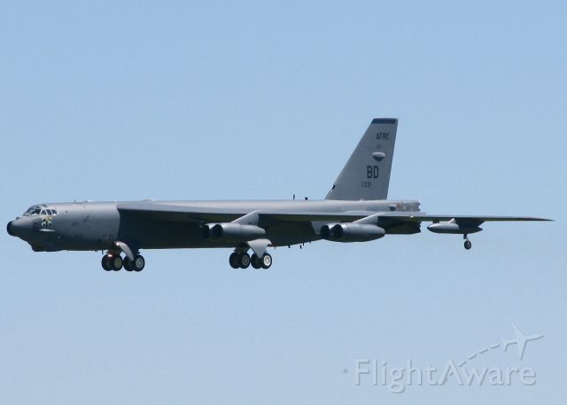 Boeing B-52 Stratofortress (61-0031) - At Barksdale Air Force Base.
