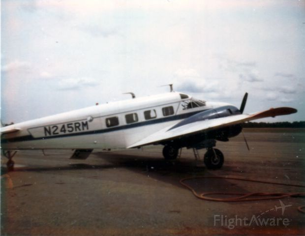 Beechcraft 18 (N245RM) - Owned by Riverside Manufacturing in Moultrie, GA late 1960s