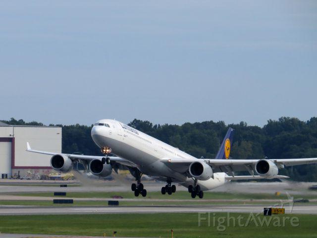 Airbus A340-600 (D-AIHM) - AUGUST 16, 2013