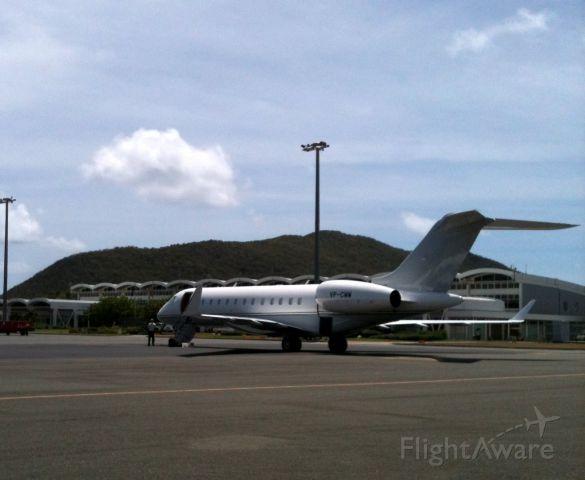 Bombardier Global 5000 (VP-CWW)