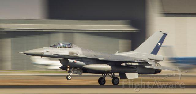— — - F-16 Fighting Falcon