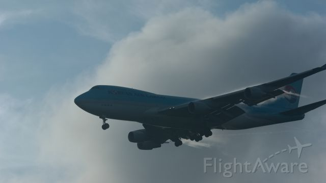 Boeing 747-400 (HL7438) - KOREAN AIR LINES CARGO