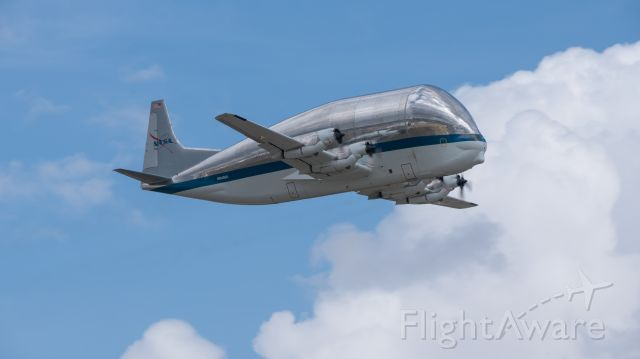 N941NA — - The infamous Super Guppy taking flight from KEFD for crew currency training on 3/9/2021