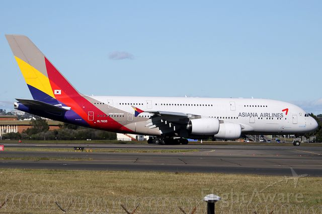 Airbus A380-800 (HL7635) - on 26 November 2018