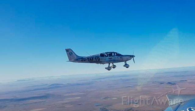 ZU-TAF — - Formation flying - a few months before the crash