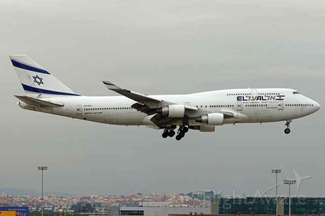 Boeing 747-400 (4X-ELH)