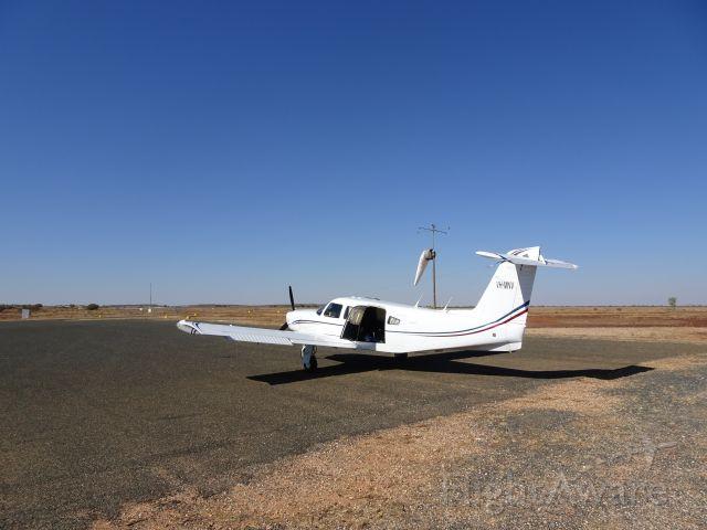 Piper Saratoga (VH-MNV) - White Cliffs nice flight