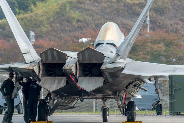 Lockheed F-22 Raptor (06-4123) - Seoul ADEX 2015