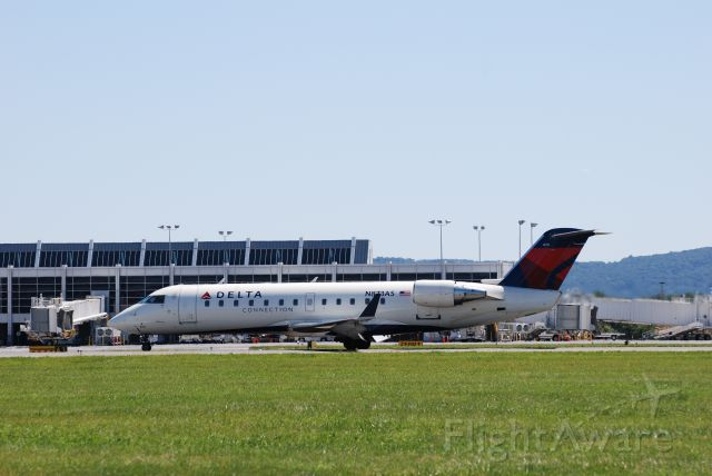 — — - Delta CRJ that landed during the Lehigh Valley Airshow 2013