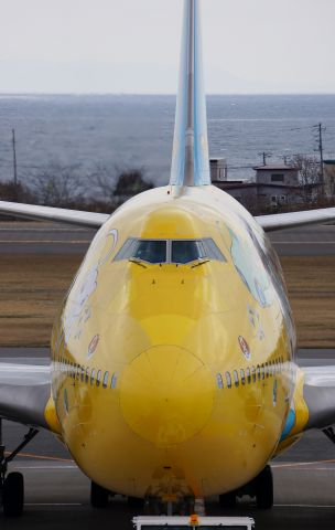 Boeing 747-400 (JA8957) - ANA