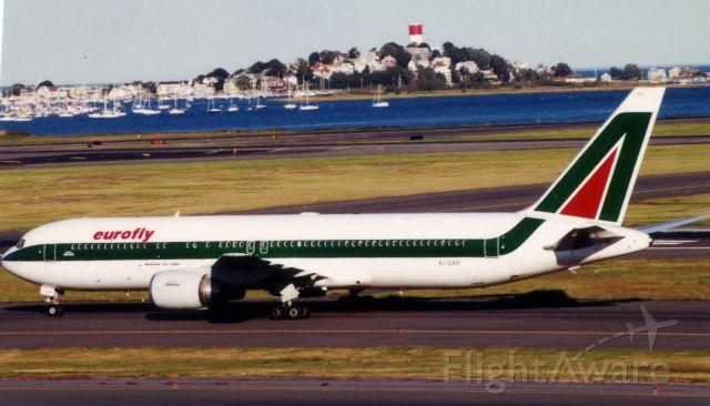 BOEING 767-300 (EI-CRF) - From September 22, 2000